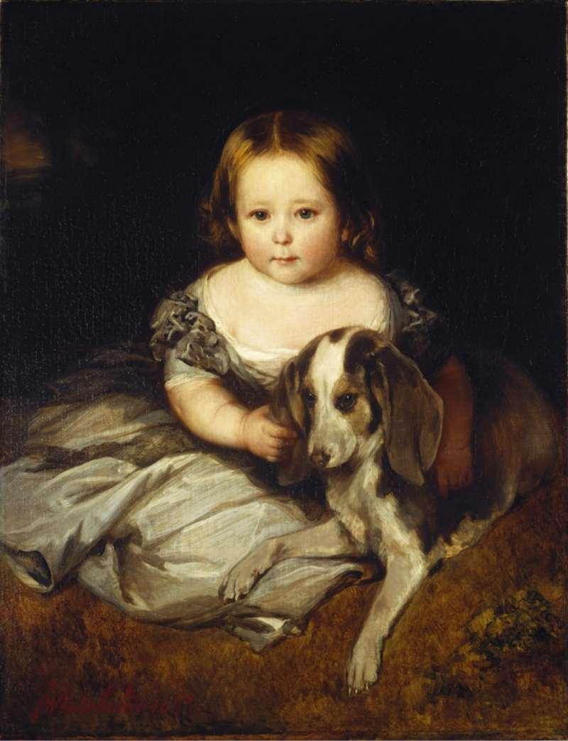 Franz Xaver Winterhalter | Prinzessin Alice, 1845 | Privatbesitz