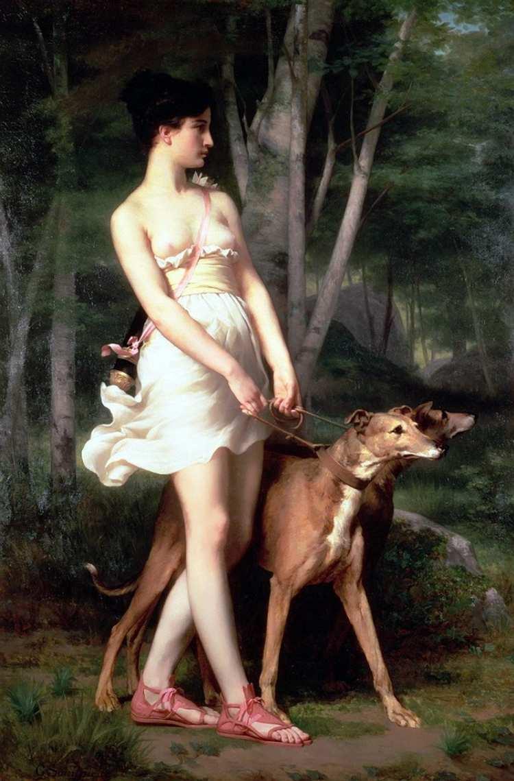 Gaston Casimir Saint-Pierre | Diane the Huntress