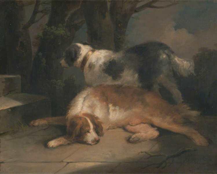 George Morland | Setters, 1798-99