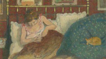 Georges Lemmen | Frau mit Katze | Musée d'Orsay, Paris