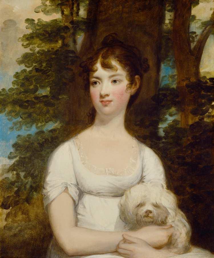 Gilbert Stuart   Mary Barry, 1803-1805   National Gallery of Art - Washington DC