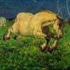 Giovanni Segantini | Galoppierendes Pferd | Galleria d'Arte moderna di Milano