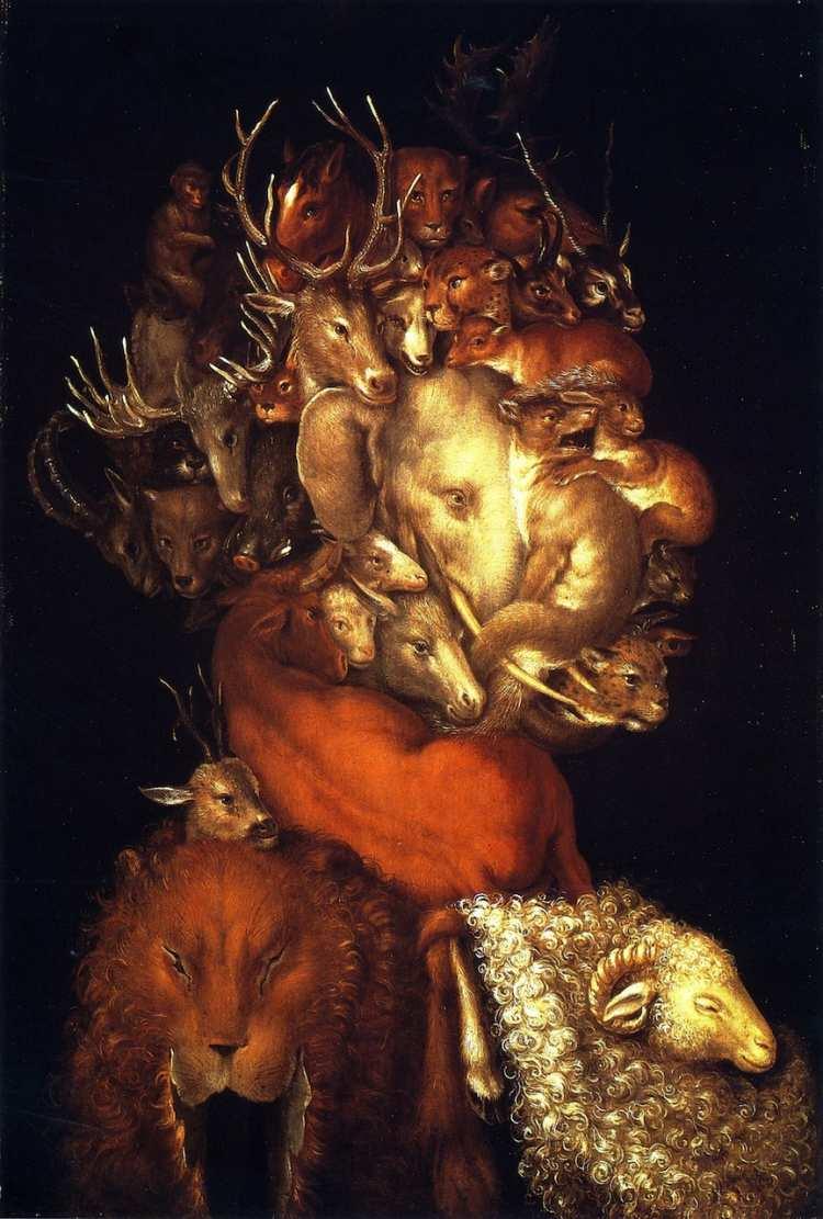 Giuseppe Arcimboldo | Earth - Die vier Elemente, 1566 | Privatsammlung