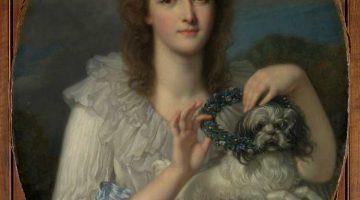 Jean-Baptiste Greuze | Princess Varvare Nikolaevna Gagarina (1762-1802), ca. 1780-82 | Photo credit: Metropolitan Museum of Art