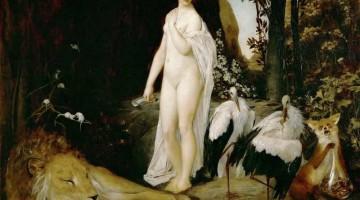 Gustav Klimt | Fable, 1883 | Privatbesitz
