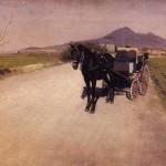 Gustave Caillebotte | Eine Straße in der Nähe von Neapel
