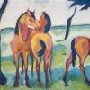Helmuth Macke | Drei Pferde | Privatsammlung