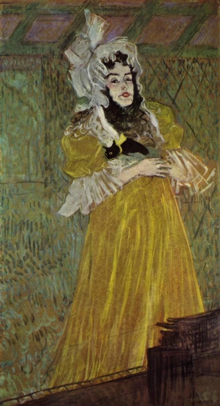 Henri de Toulouse-Lautrec | Miss Belford