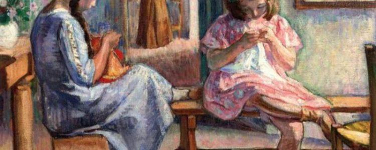 Henri Lebasque | Intimate Scene, 1910/11
