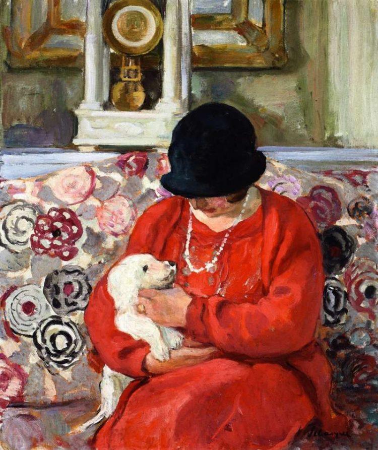 Henri Lebasque | Little White Dog, 1905