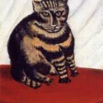 Henri Rousseau | The Tiger Cat