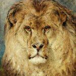Heywood Hardy | A Lion's Head, 1878