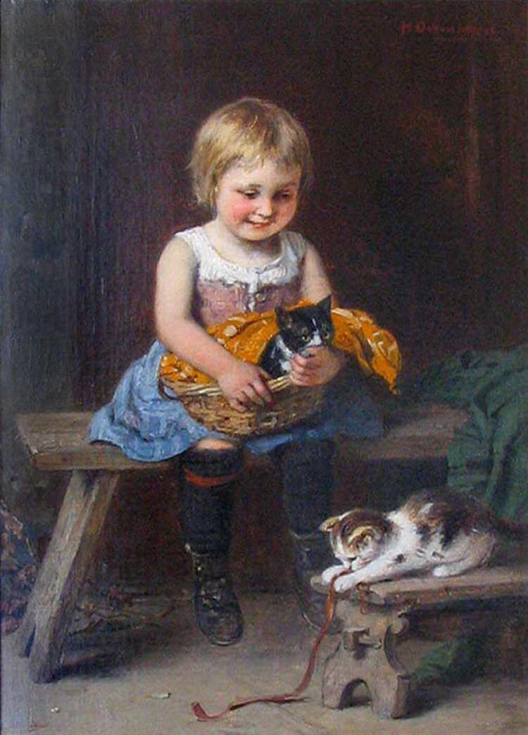 Hugo Oehmichen | Meine Katzenlieblinge
