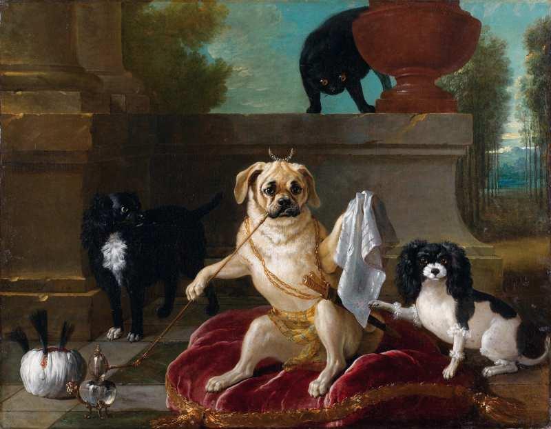 Jean-Baptiste Oudry | Le Serail du Doguin, 1734