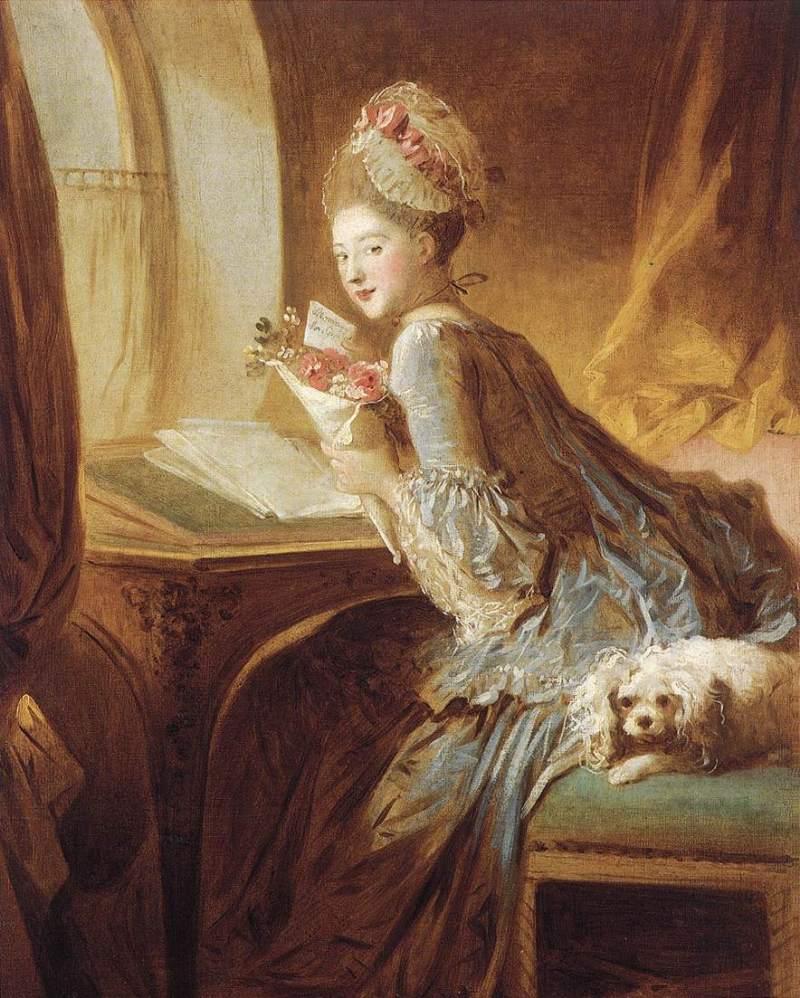 Jean-Honore Fragonard | The Love Letter, 1770