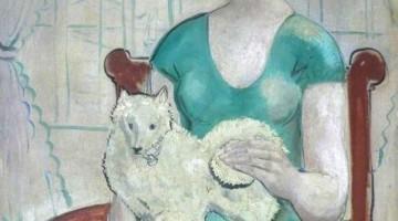 John Christopher Wood |Woman with Dog