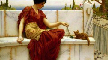 John William Godward | The Favourite, 1901
