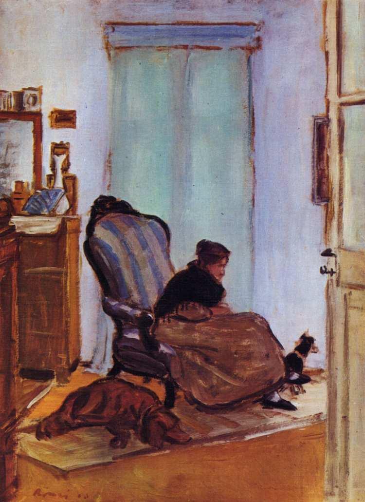 József Rippl-Rónai | Flox and Filox, 1903 | Privatbesitz