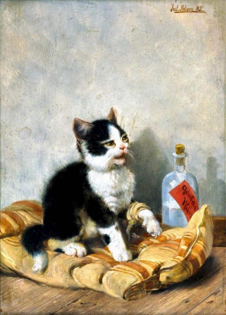Julius Adam   Der kleine Patient, 1885