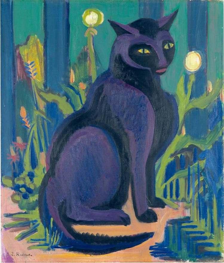 Ernst Ludwig Kirchner | Kater Bobby, 1924/28