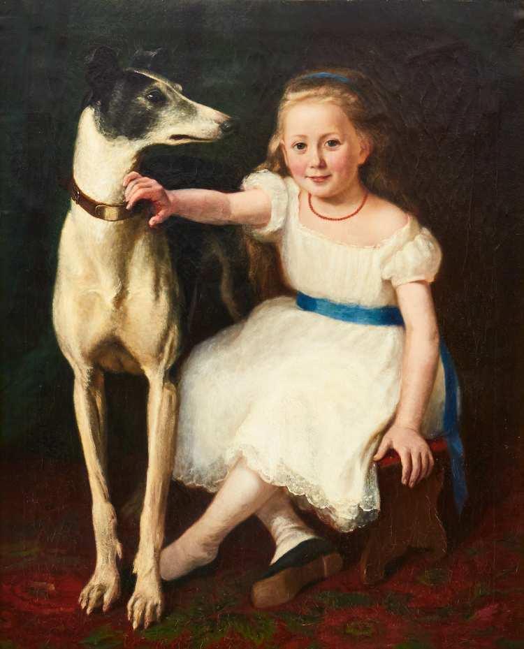 Knut Ekwall | Flika mit Hund