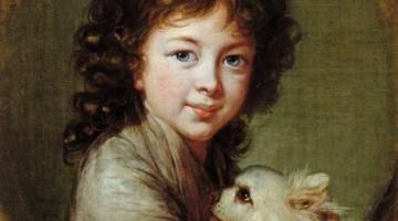 Louise Élisabeth Vigée-Le Brun | Elisabeth Isabelle Mniszech, 1797 | Narodna Galerija Ljubljana