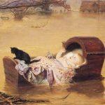 Sir John Everett Millais   A Flood, 1870   Manchester Art Gallery
