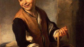 Bartolomé Esteban Murillo | Boy with a Dog, 1655