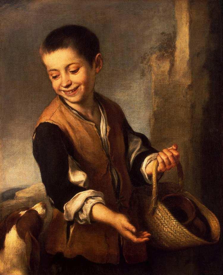 Bartolomé Esteban Murillo   Boy with a Dog, 1655