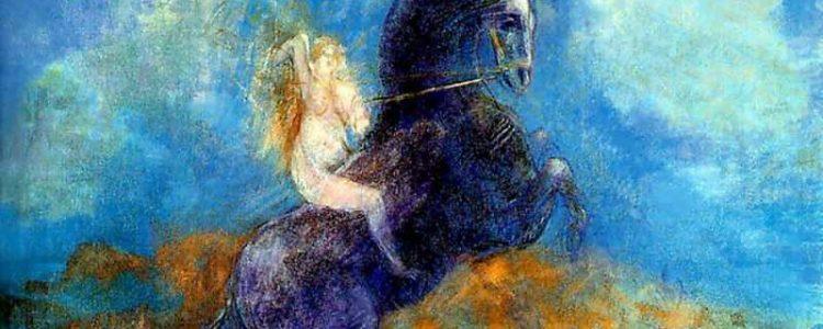 Odilon Redon | Brunhild (auch bekannt als Wallküre) | Privatbesitz