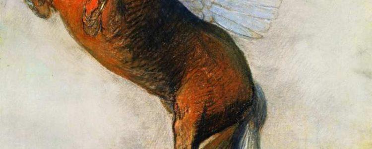 Odilon Redon | Der Gipfel, 1894 | Van Gogh Museum Amsterdam