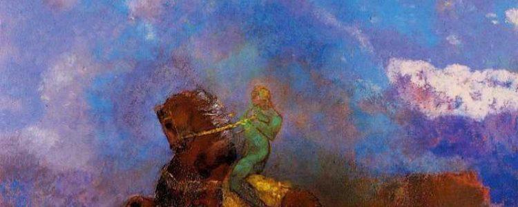 Odilon Redon | Der Grüne Reiter, 1905 | Privatbesitz