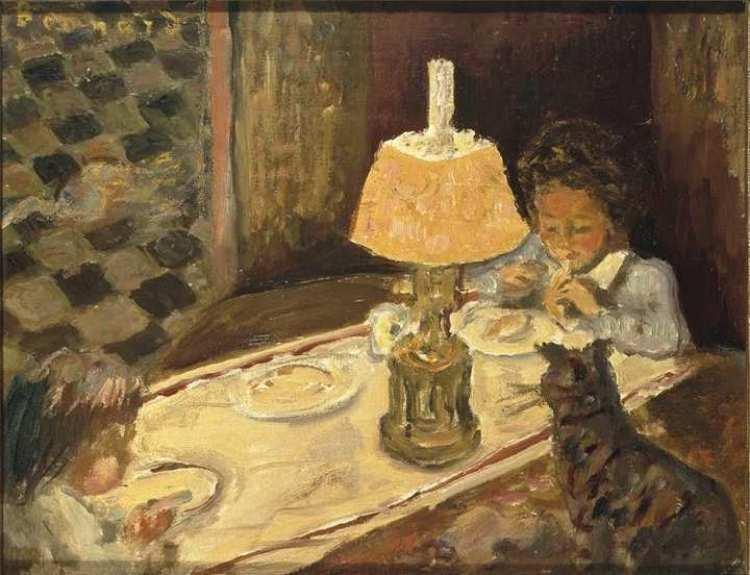 Pierre Bonnard | Le déjeuner des enfants, 1897