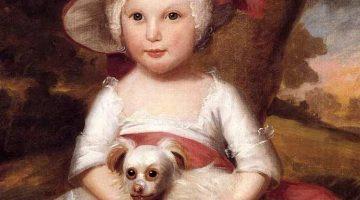 Ralph Earl | Portrait of a Child | Detail