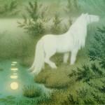 Theodor Severin Kittelsen   The White Horse, 1910   Privatbesitz