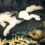 Theodor Severin Kittelsen   Boy on White Horse   Privatbesitz