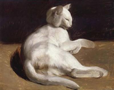 Théodore Géricault | The White Cat | Privatsammlung