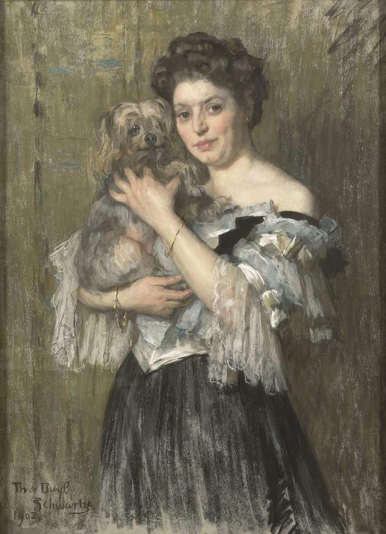 Thérèse Schwartze | Maria Catharina Josephine Jordan, 1902 | Rijksmuseum