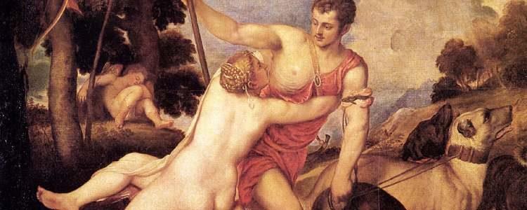 Tizian | Venus und Adonis, 1553-1554