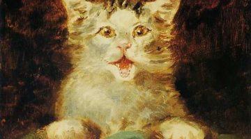 Henri de Toulouse-Lautrec | The Cat (Detail)