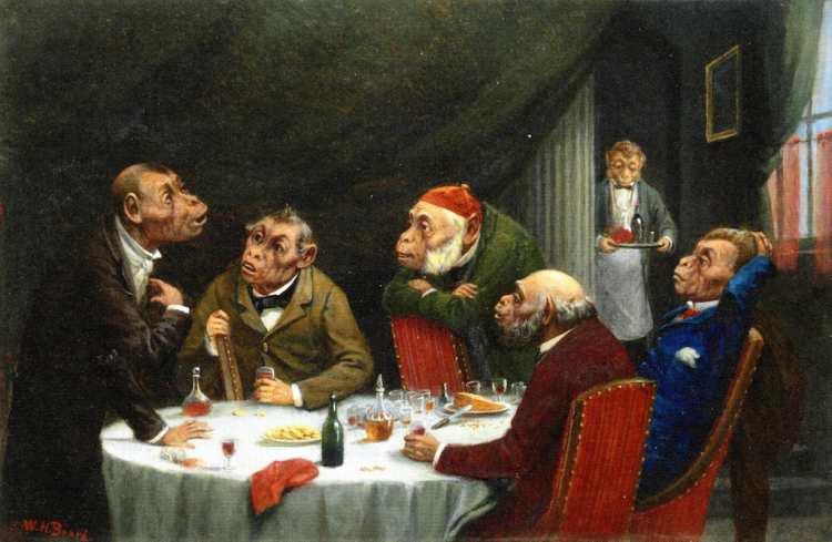 William Holbrook Beard | After Dinner Discourse | Privatbesitz