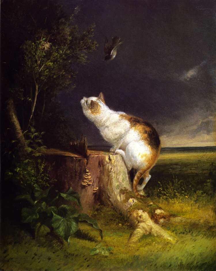 William Holbrook Beard | The Birdwatcher, 1863 | Privatbesitz
