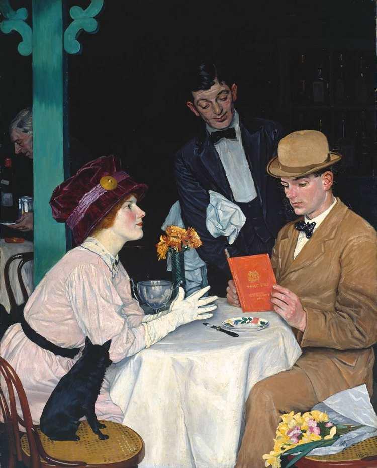 William Strang | Bank Holiday, 1912