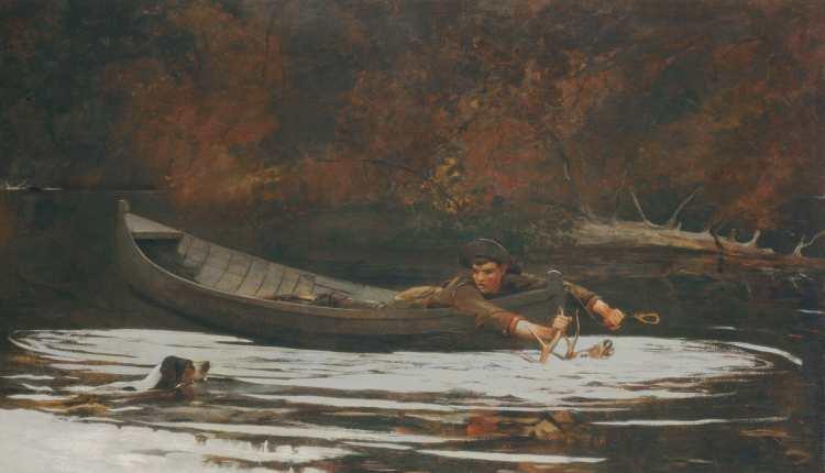 Winslow Homer   Hound and Hunter, 1892